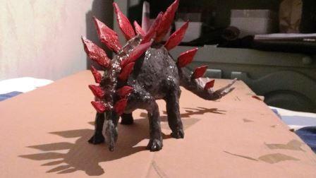 Сделать динозавра своими руками