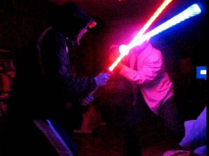 Лазерный меч своими руками