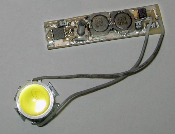 Драйвер для мощного светодиода